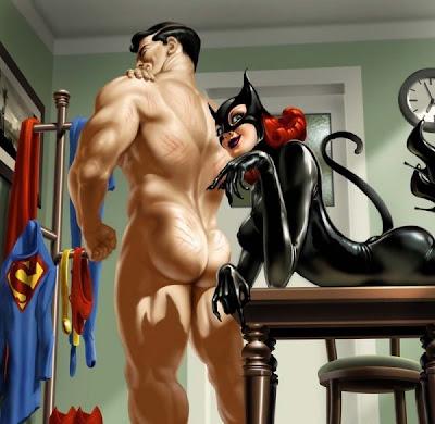 catwoman and batgirl lesbian