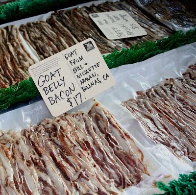Goat Bacon