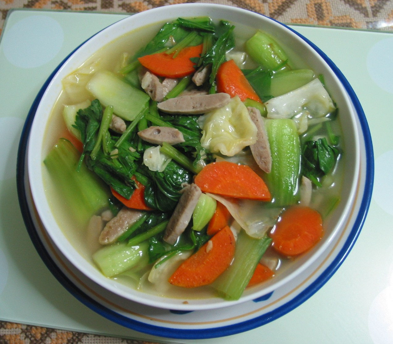 Asian style vegetable