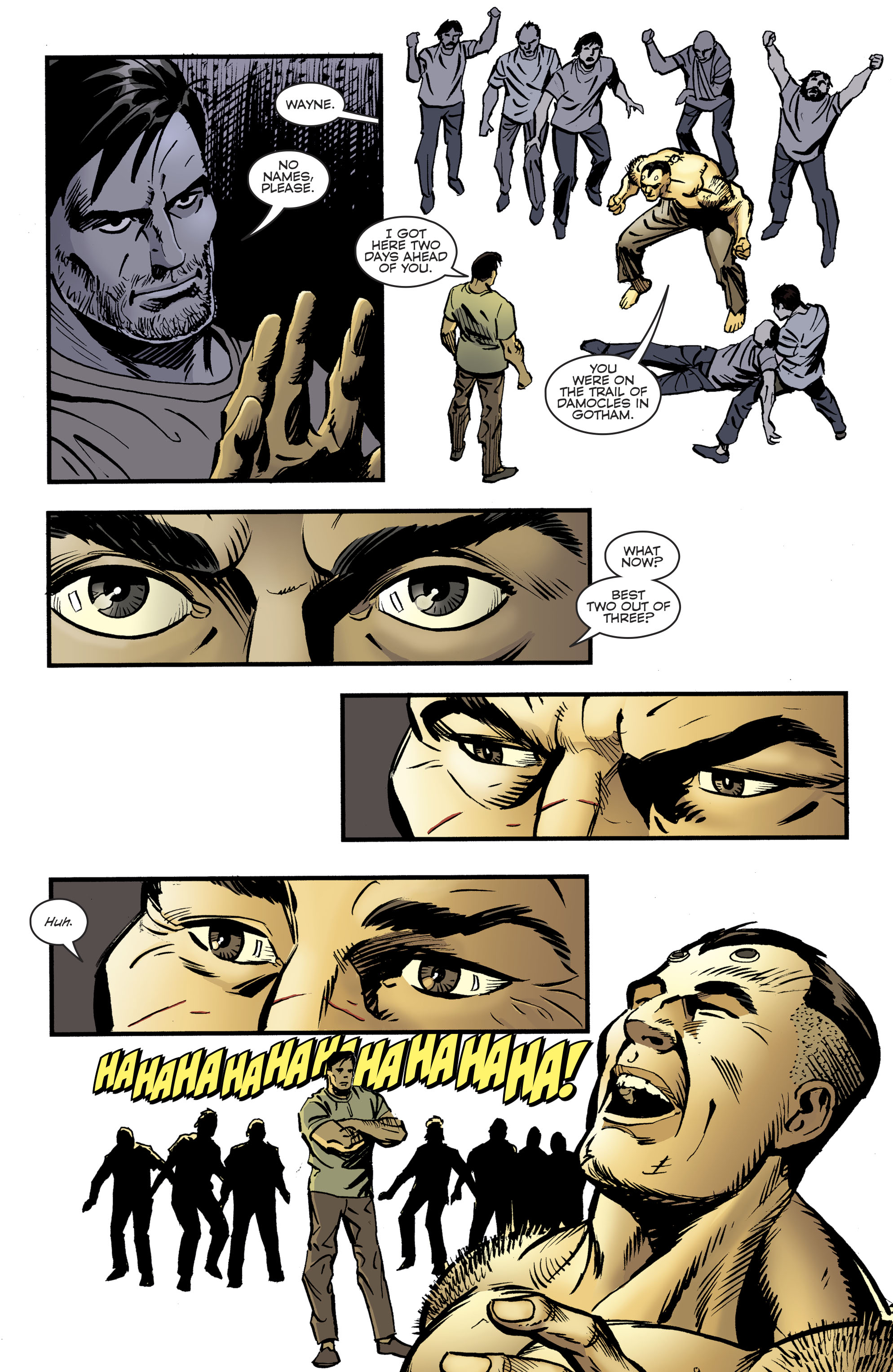 Read online Bane: Conquest comic -  Issue #2 - 8