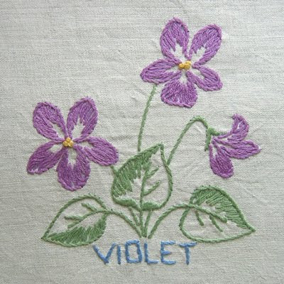 Wallpaper Tennis Girl Old Sweetwater Cottage Violets Are Blue