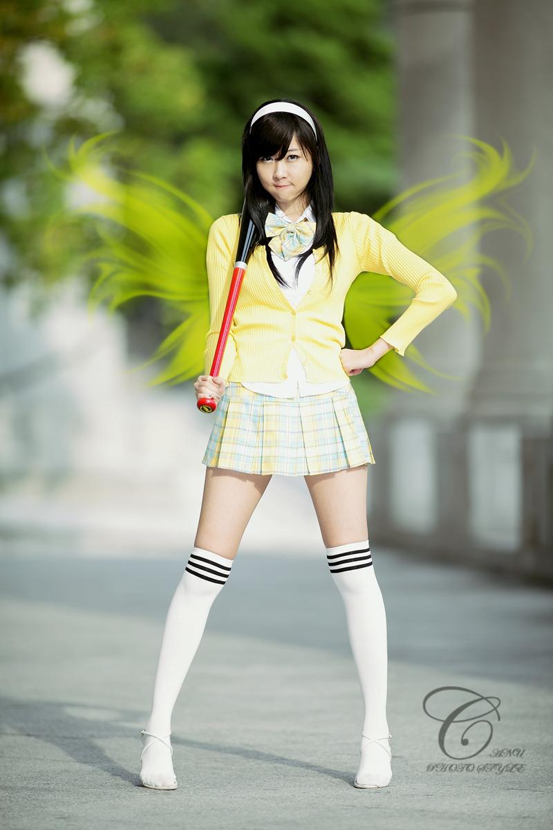 Asian Girls Sexy Cute School Girl Choi Byul-I-2674