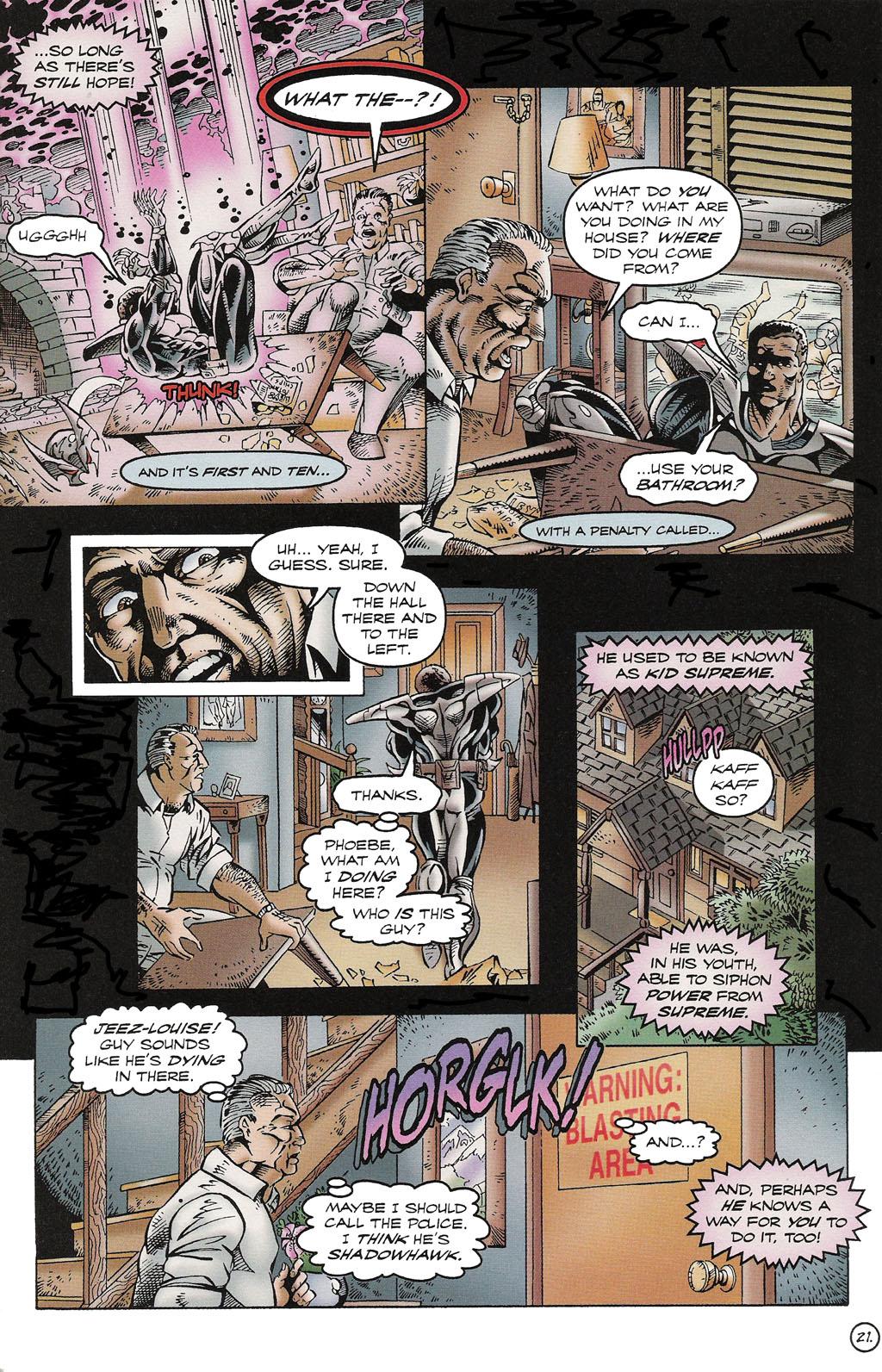 Read online ShadowHawk comic -  Issue #16 - 20