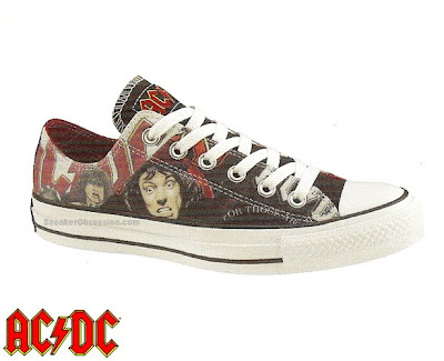 official photos 7de60 b9f84 Art of posters  AC DC x Converse Chuck Taylor All Star Pack