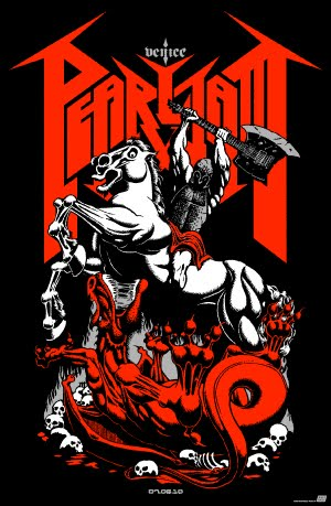 Inside The Rock Poster Frame Blog Pearl Jam Venice Italy