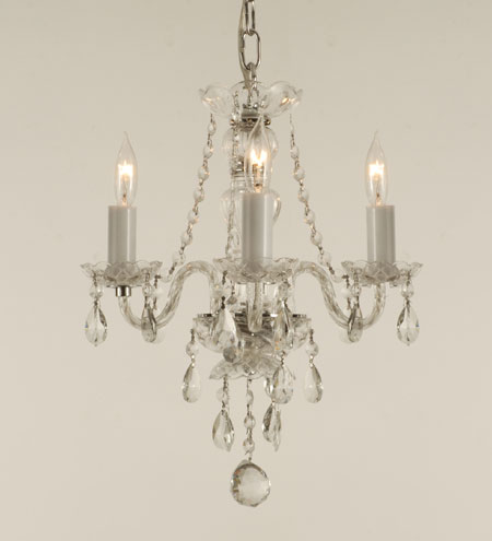Connie deamond interior creations chandeliers in the bathroom - Small bathroom chandelier crystal ...