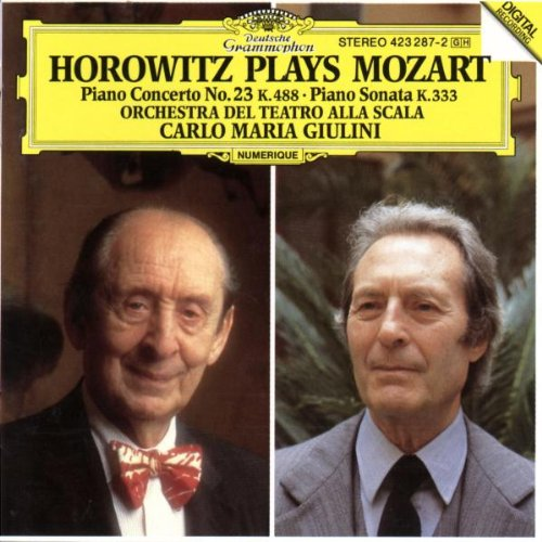 The Cd Project Horowitz Plays Mozart 1987