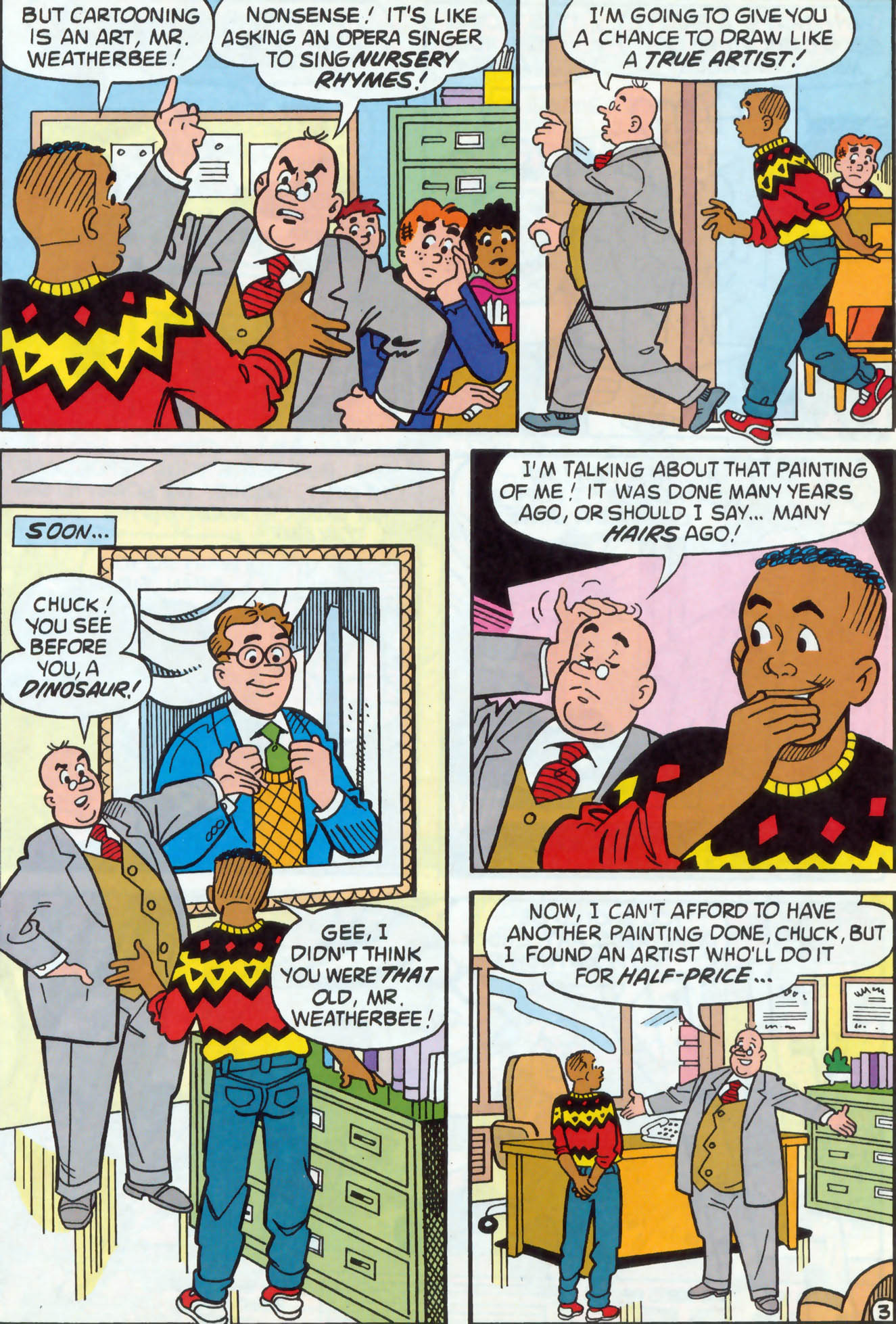 Read online Archie (1960) comic -  Issue #470 - 21