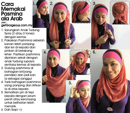 How To Wear A Pashmina Shawl Pashmina Scarf How To Wear