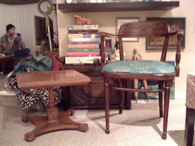 vintage, vintage chair, vintage table, thrifting, antique