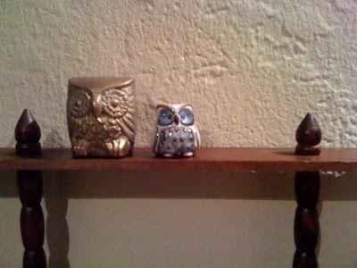 vintage, owl, vintage owls, thrifting