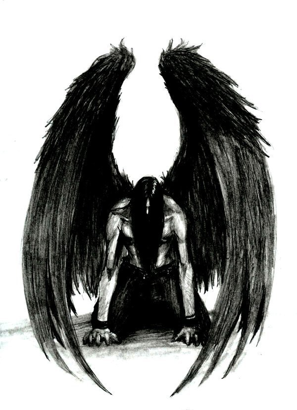 adiccion gotica ANGELES NEGROS