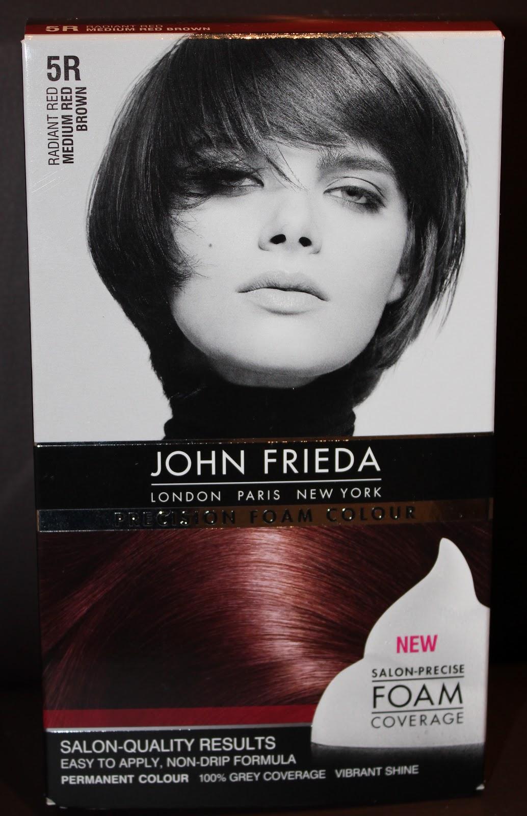 John frieda precision foam colour also natalya   beauty blog rh filthygorgeousmakeupspot