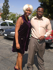 GloZell Green and Bobby Brown