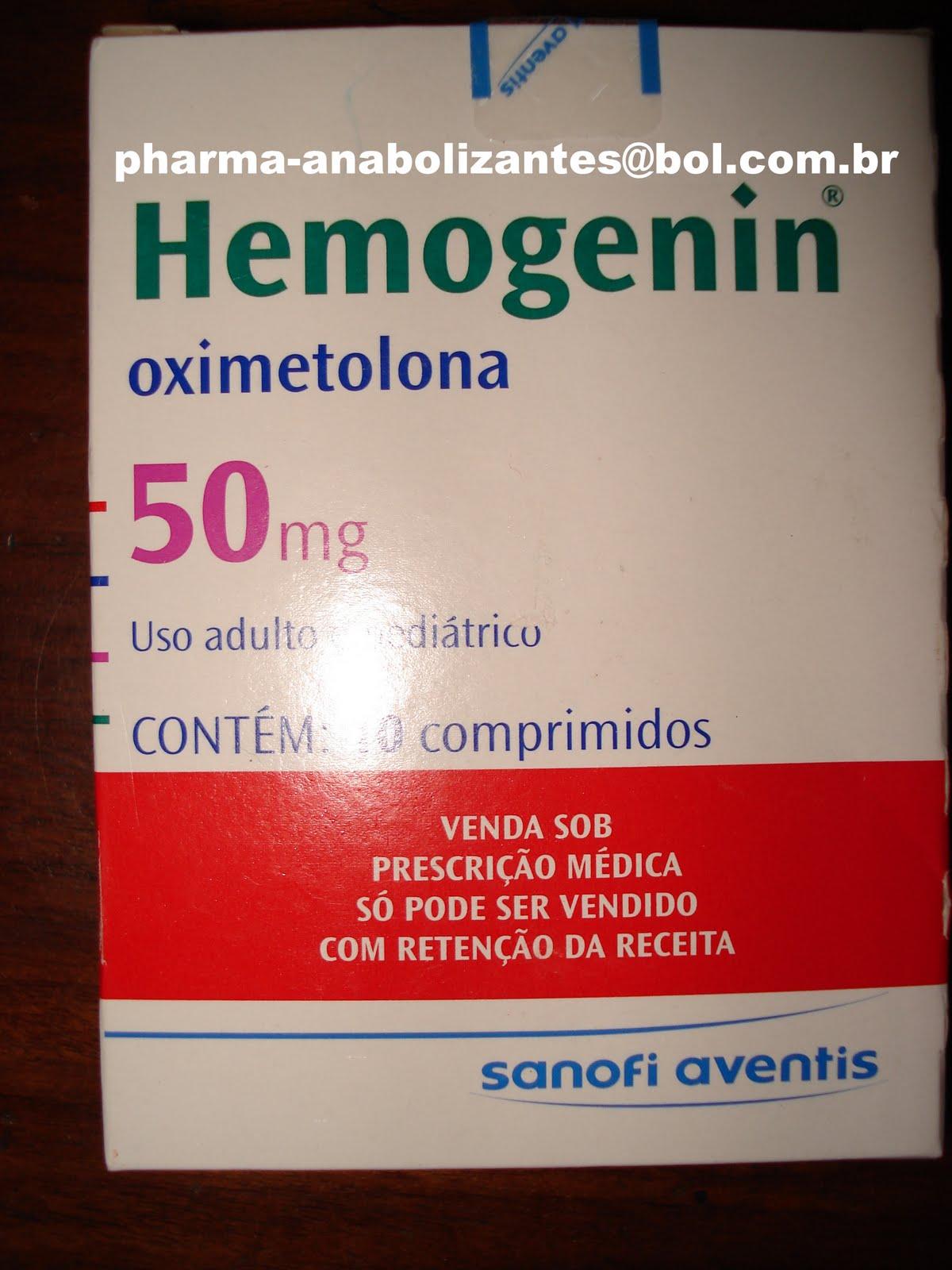 hemogenin e outros anabolicos nacionais: hemogenin/deca