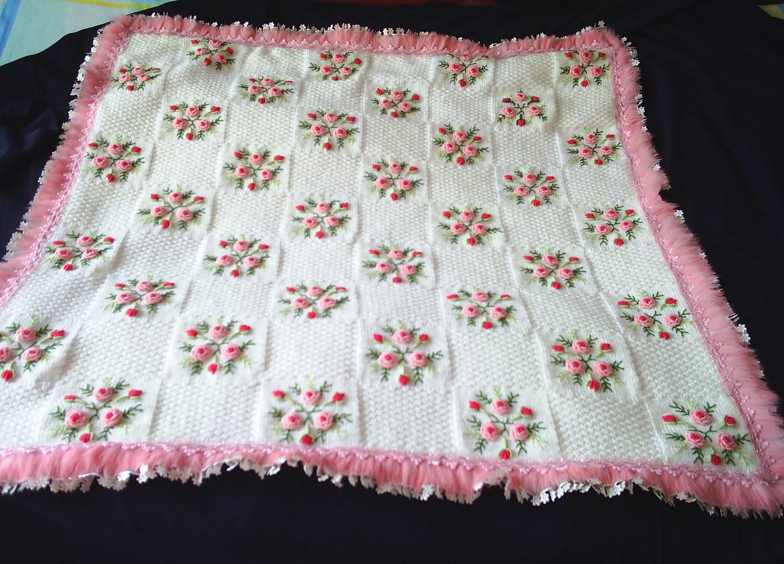 örme bebek battaniyesi 2