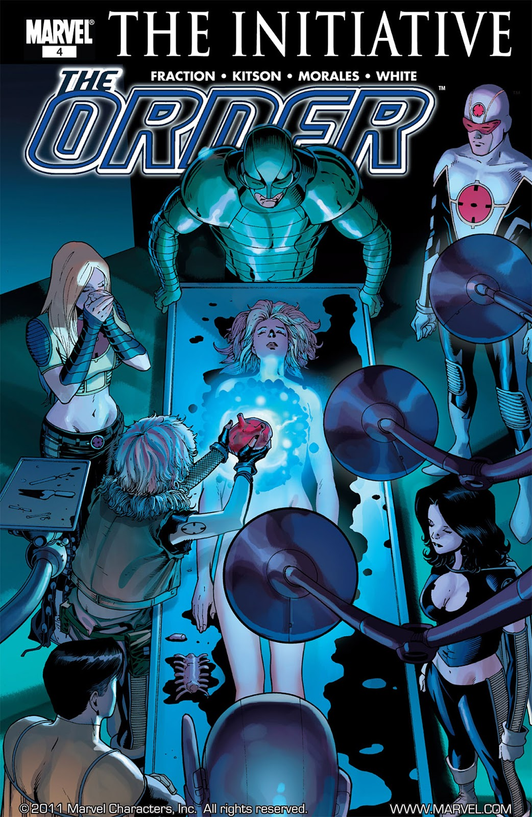 The Order (2007) issue 4 - Page 1