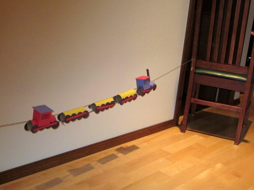 Skip To Mellu Train Craft For Preschool