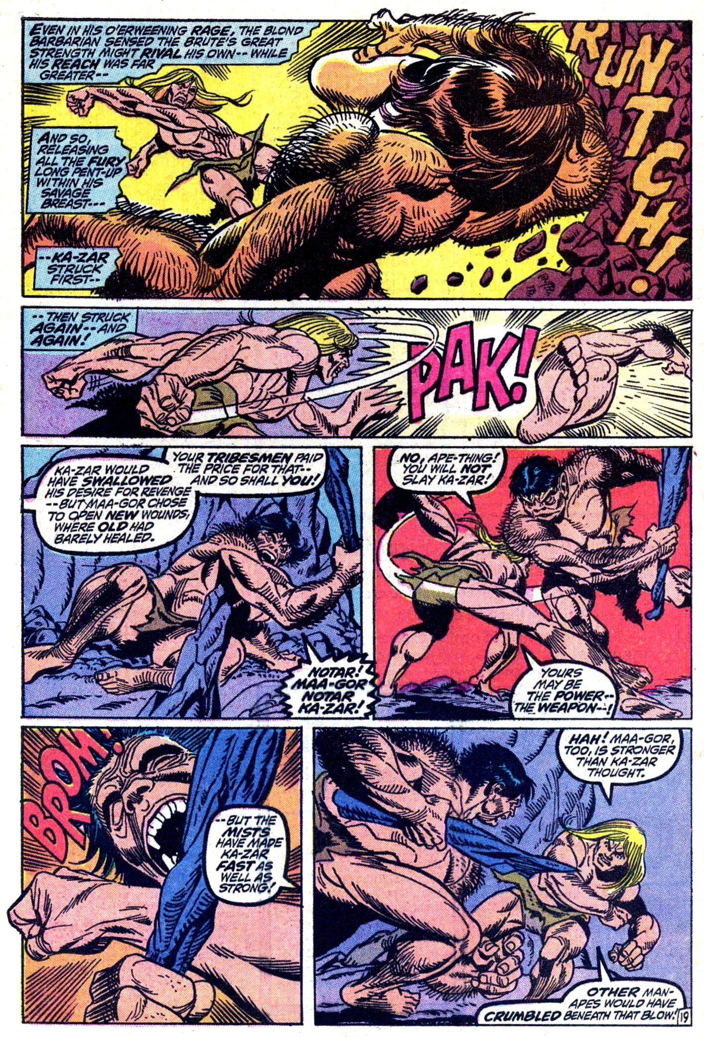 Read online Astonishing Tales (1970) comic -  Issue #11 - 20