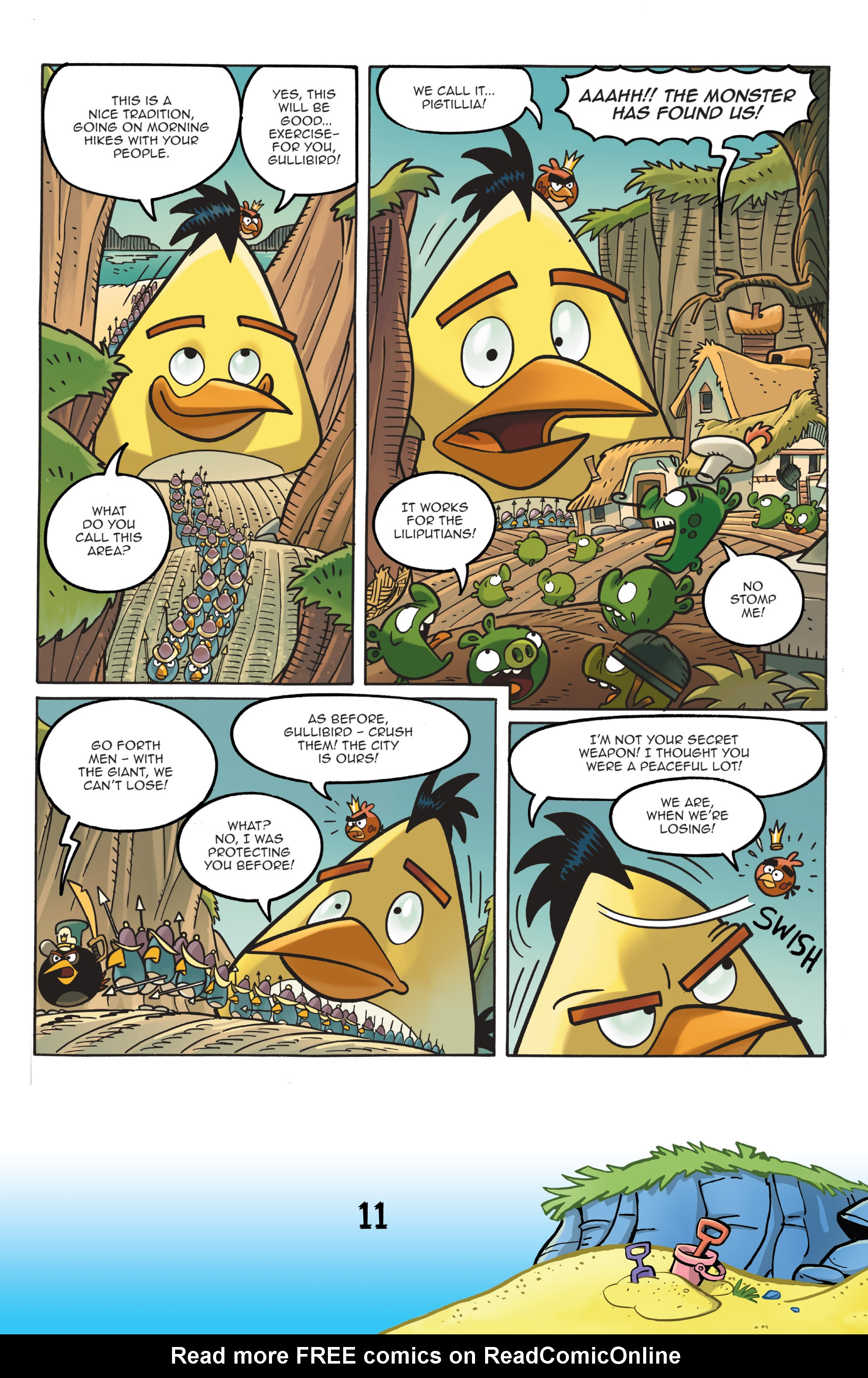 Read online Angry Birds Comics (2016) comic -  Issue #7 - 13