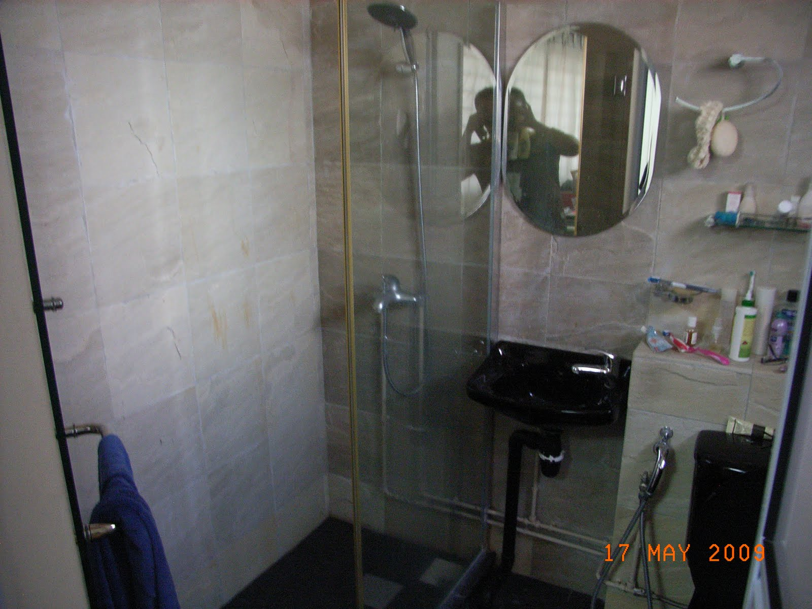 Our Hdb Flat Renovation In 2009 Improved Toilet Layout