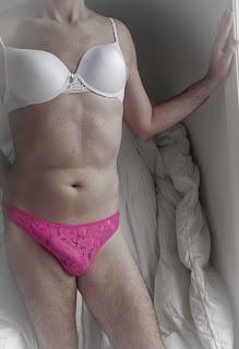 men wearing pretty panties