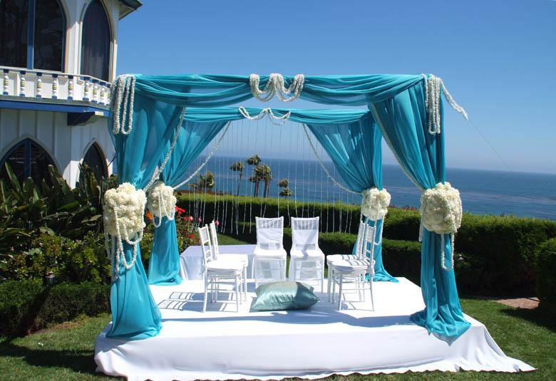 oceanside mandap - Asian Wedding Readings