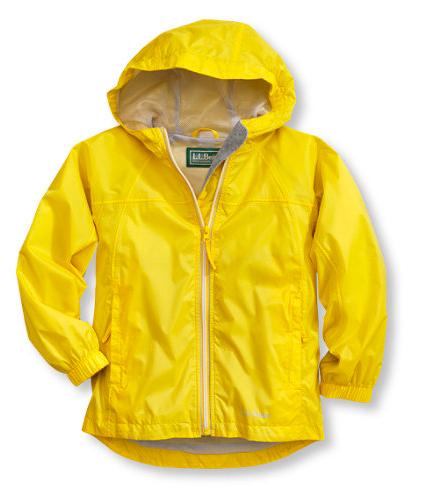 Gallery Yellow Rain Coat Kids
