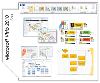 microsoft office visio is a commercial diagramming program for microsoft windows that uses vector graphics to create diagrams it is currently available in - Download Microsoft Office Visio 2010 Free