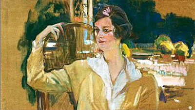 Sra. Peréz de Ayala, Joaquín Sorolla y Bastida, Retratos de Joaquín Sorolla, Joaquín Sorolla, Pintor español, Retratista español, Retrato de la Sra. Peréz de Ayala