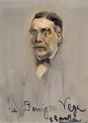Benigno de la Vega-Inclán, Joaquín Sorolla