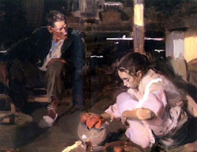 Los Pimientos, Joaquín Sorolla Bastida, Retratos de Joaquín Sorolla, Joaquín Sorolla y Bastida, Joaquín Sorolla, Pintor español, Retratista español, Pintores Valencianos