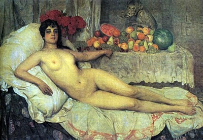 Desnudo Femenino, Anselmo Miguel Nieto, Pintura Española, Pintores Españoles, Pintor Español, Mujer desnuda, Mujeres desnudas, Obras de Anselmo Miguel Nieto