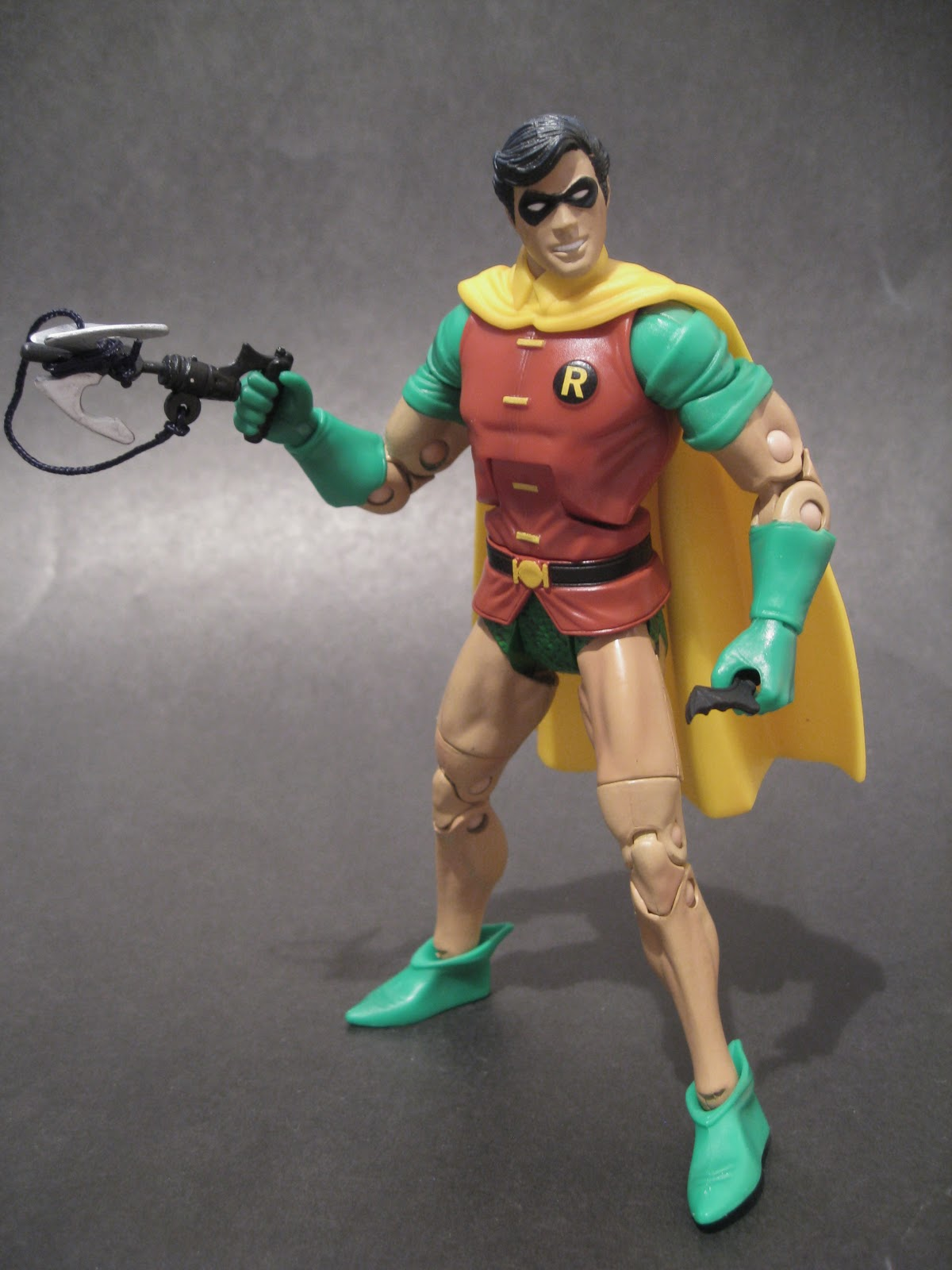 Action Toy Review Dc Universe Classics Robin Dick Grayson