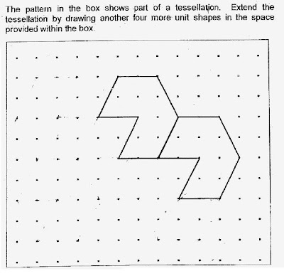 P4 Maths: Tessellation Question