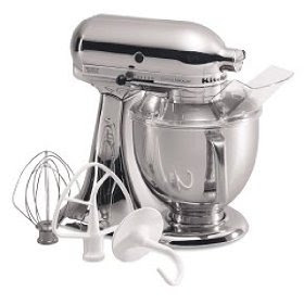 The Kitchenaid Mixer Chrome Is Stylish And Affordable For Today S Modern Kitchen Stainless Steel Liances Are Extremely Por