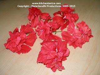 Hibiscus Concoction Hibiscus Juicetea Kitchen Tantra
