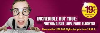 Germanwings: Voe por 19,99 Euros até 30 de março 2009
