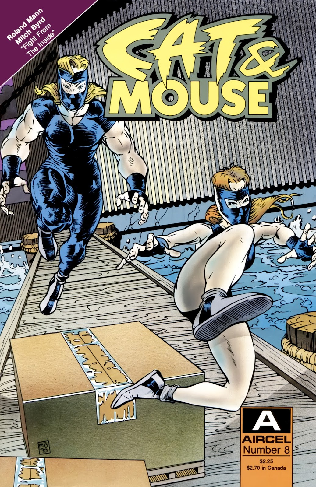 Cat & Mouse issue 8 - Page 1
