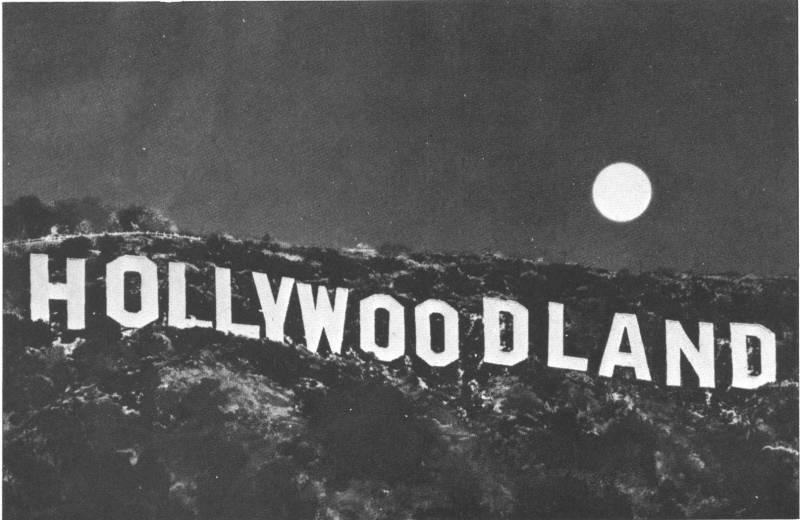 Hollywood Sign-- A History