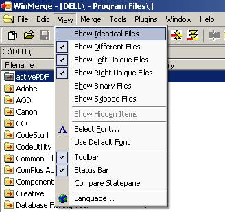 Finally, I've found a Spot!: Dev : Skipping CVS Folder In WinMerge