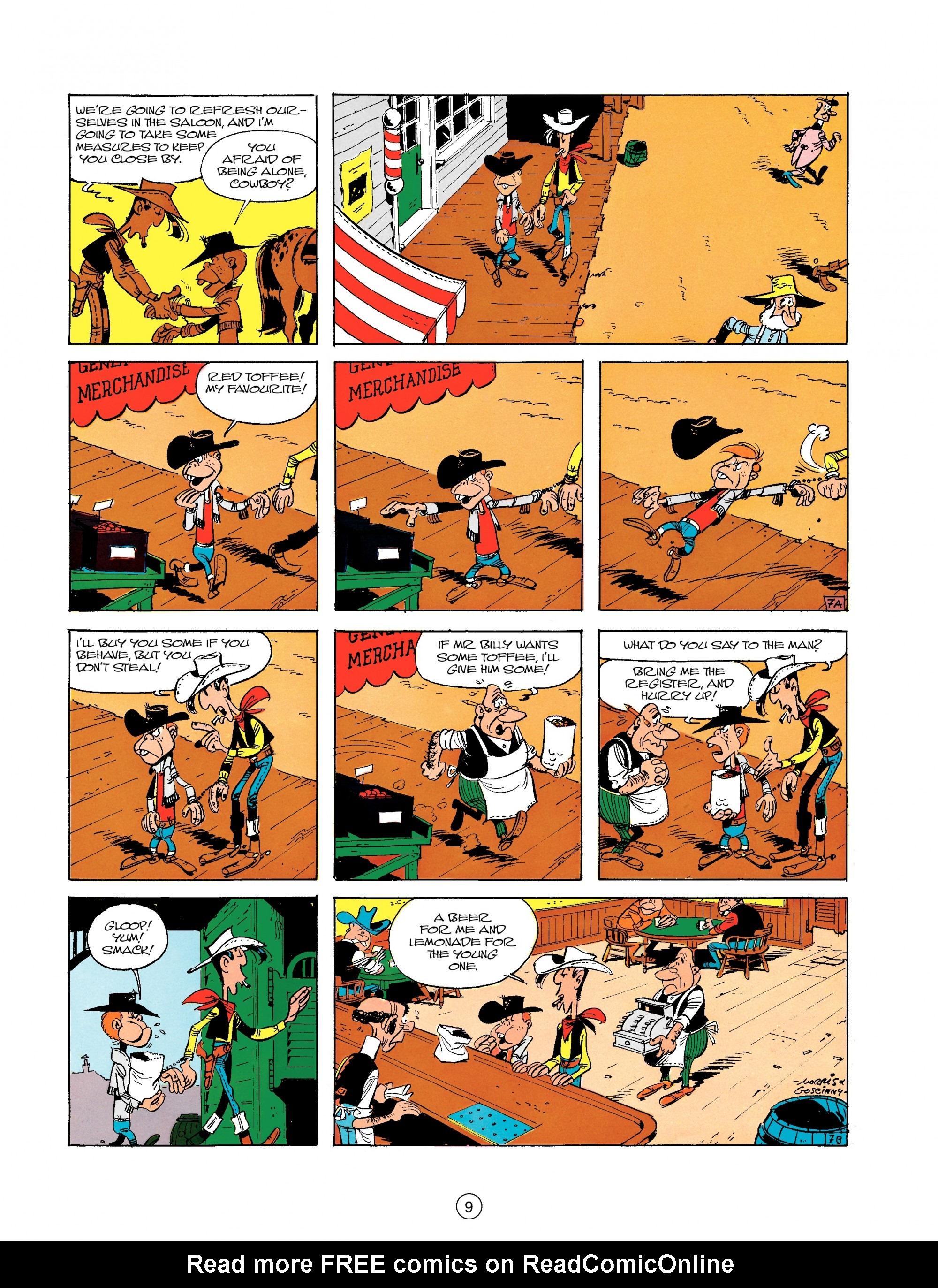 Read online A Lucky Luke Adventure comic -  Issue #18 - 9