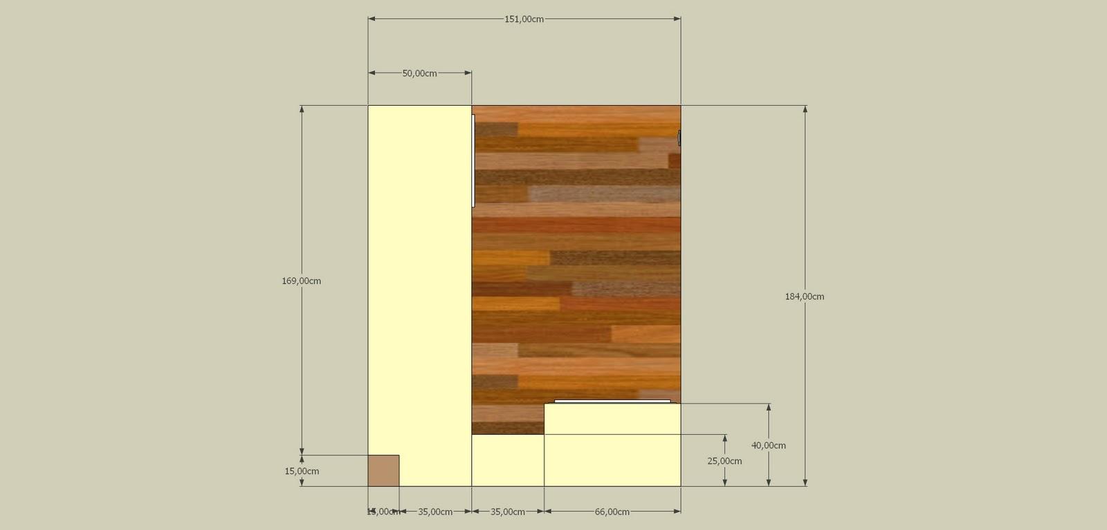 dressing en l. Black Bedroom Furniture Sets. Home Design Ideas
