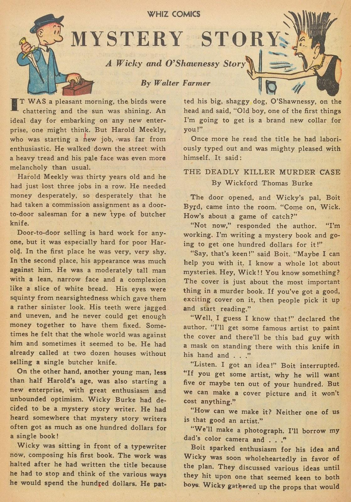 Read online WHIZ Comics comic -  Issue #153 - 16
