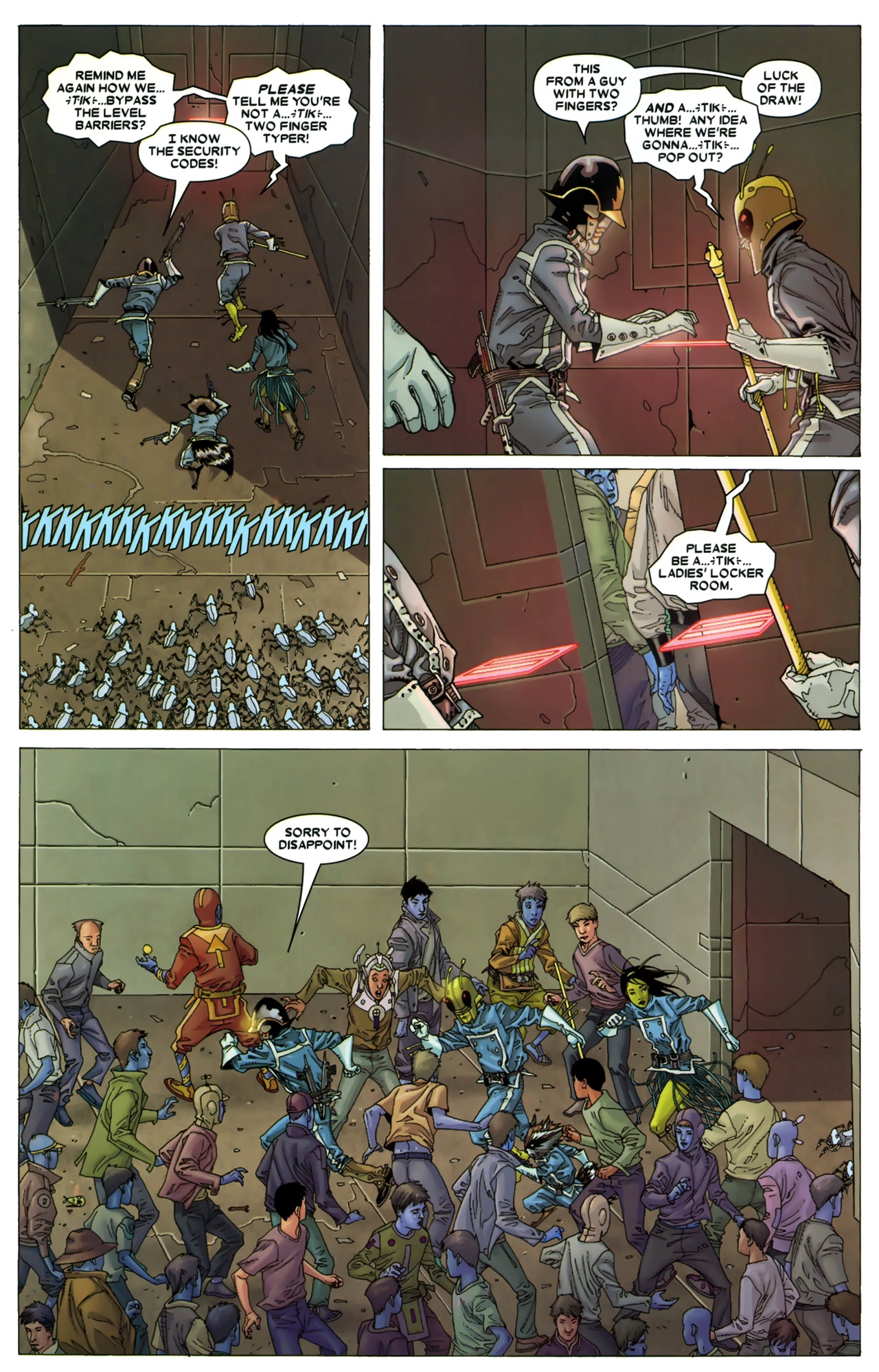 Read online Annihilation: Conquest - Starlord comic -  Issue #3 - 21