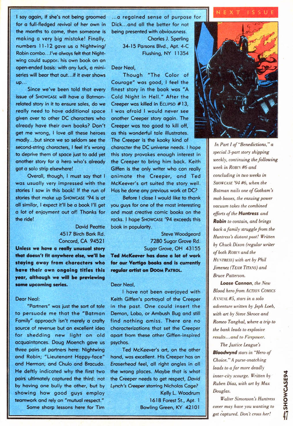 Read online Showcase '94 comic -  Issue #4 - 41