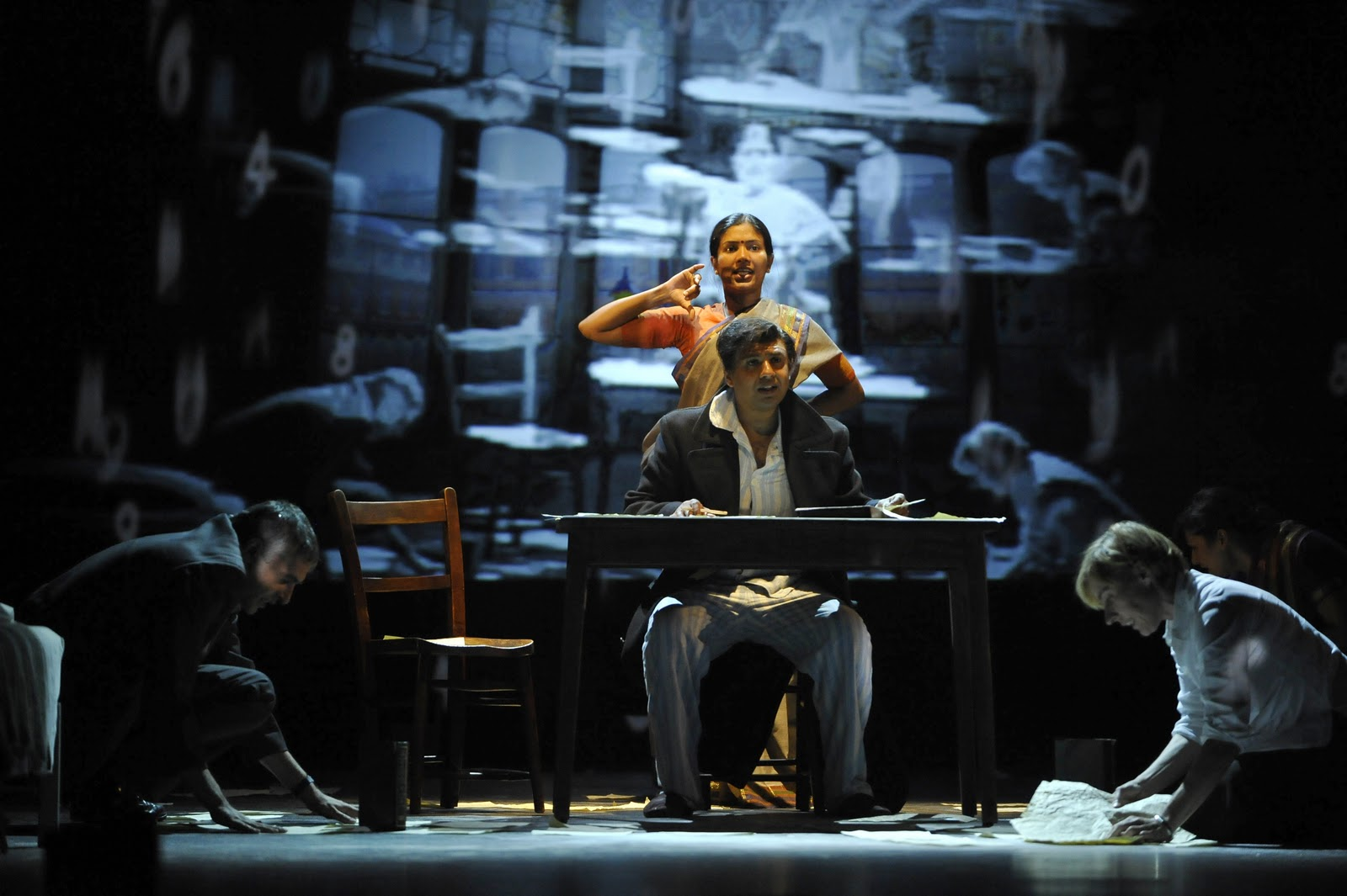 The National Theatre live broadcast of A Disappearing Number proved to be a  stunning experience. A heady mix of drama, math, physics, love, romance,  ritual, ...