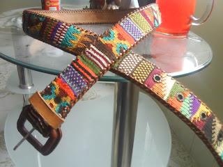 últimos diseños diversificados a un precio razonable Para estrenar ARTESANIAS HECHAS A MANO: cinturones