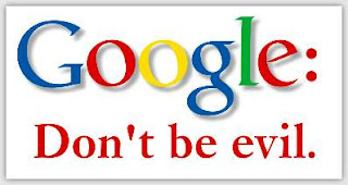 Lema de Google: Don't be evil