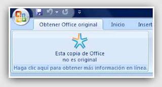 Deshabilitar Mensaje Esta Copia De Office No Es Original Office 2007 Cgnauta Blog